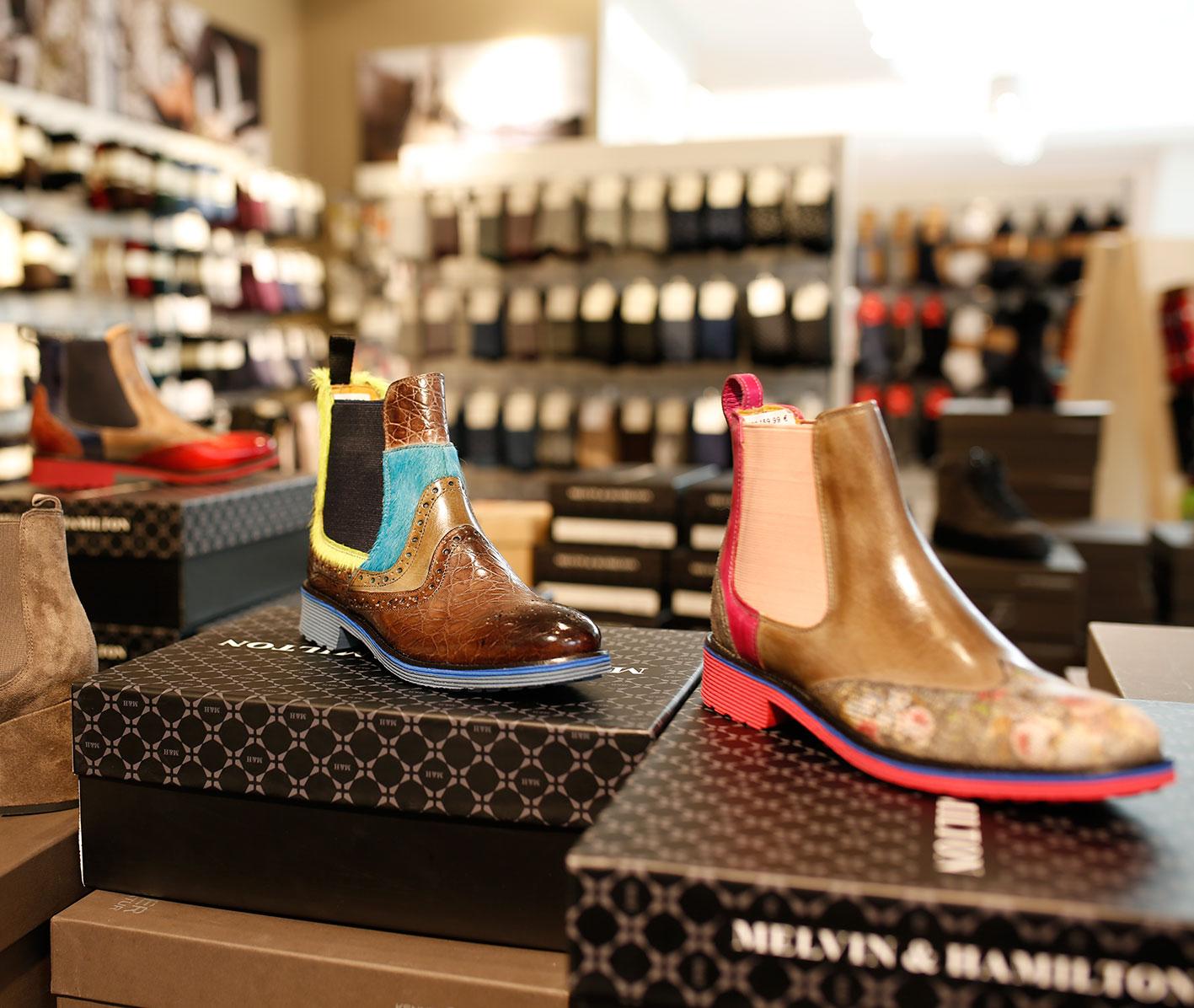 Schuhe, die Maßstäbe setzen