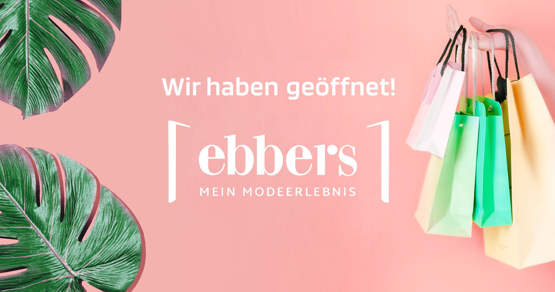Das Modehaus ebbers in Warendorf hat geöffnet